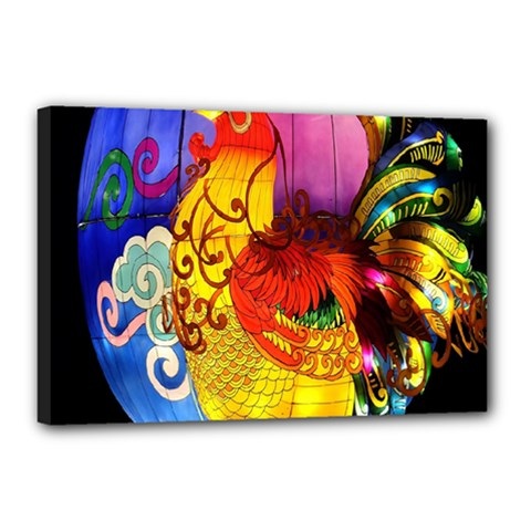 Chinese Zodiac Signs Canvas 18  X 12  by Onesevenart