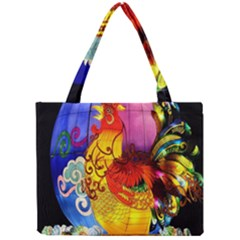 Chinese Zodiac Signs Mini Tote Bag by Onesevenart