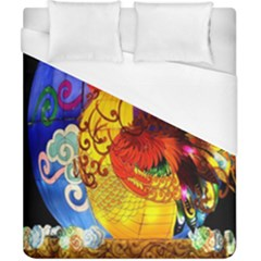 Chinese Zodiac Signs Duvet Cover (california King Size) by Onesevenart