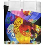 Chinese Zodiac Signs Duvet Cover Double Side (California King Size)