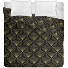 Abstract Stripes Pattern Duvet Cover Double Side (king Size) by Onesevenart