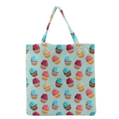 Cup Cakes Party Grocery Tote Bag by tarastyle