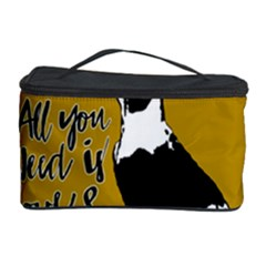 Dog Person Cosmetic Storage Case by Valentinaart