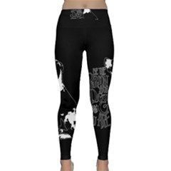 Dog Person Classic Yoga Leggings by Valentinaart