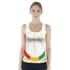 Coat Of Arms Of Republic Of Guinea  Racer Back Sports Top