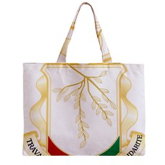 Coat Of Arms Of Republic Of Guinea  Medium Tote Bag by abbeyz71