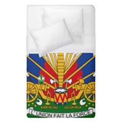 Coat Of Arms Of Haiti Duvet Cover (single Size) by abbeyz71