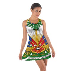 Coat Of Arms Of Haiti Cotton Racerback Dress by abbeyz71