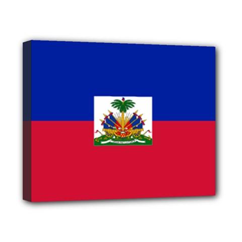 Flag Of Haiti  Canvas 10  X 8  by abbeyz71