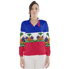 Flag Of Haiti  Wind Breaker (women) by abbeyz71