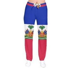 Flag Of Haiti  Drawstring Pants by abbeyz71