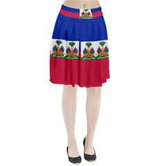 Flag Of Haiti Pleated Skirt by abbeyz71