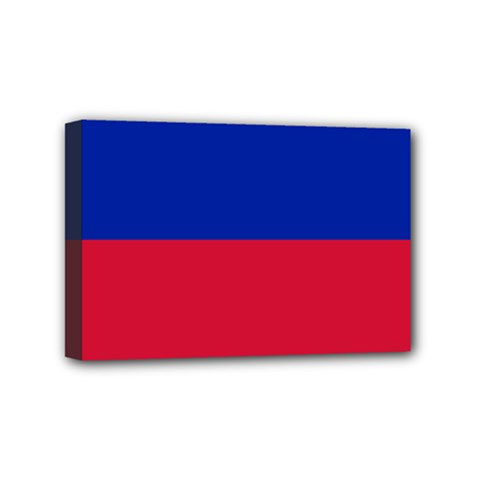Civil Flag Of Haiti (without Coat Of Arms) Mini Canvas 6  X 4  by abbeyz71