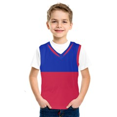 Civil Flag Of Haiti (without Coat Of Arms) Kids  Sportswear by abbeyz71