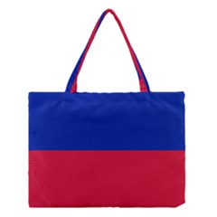 Civil Flag Of Haiti (without Coat Of Arms) Medium Tote Bag by abbeyz71