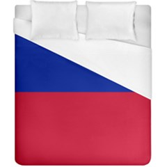 Civil Flag Of Haiti (without Coat Of Arms) Duvet Cover (california King Size) by abbeyz71