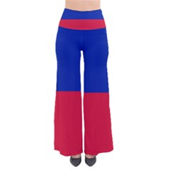 Civil Flag Of Haiti (without Coat Of Arms) Pants by abbeyz71