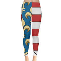Angevins Dynasty Of Hungary Coat Of Arms Leggings  by abbeyz71