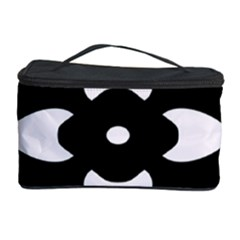 Black And White Pattern Background Cosmetic Storage Case