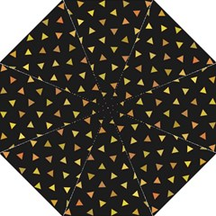 Shapes Abstract Triangles Pattern Golf Umbrellas