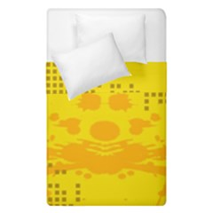Texture Yellow Abstract Background Duvet Cover Double Side (single Size)