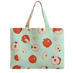 Apple Fruit Background Food Zipper Mini Tote Bag by Nexatart