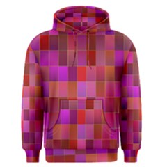 Shapes Abstract Pink Men s Pullover Hoodie