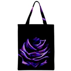 Rose Flower Design Nature Blossom Zipper Classic Tote Bag by Nexatart
