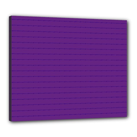 Pattern Violet Purple Background Canvas 24  X 20  by Nexatart