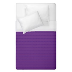 Pattern Violet Purple Background Duvet Cover (single Size)