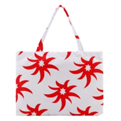 Star Figure Form Pattern Structure Medium Tote Bag by Nexatart