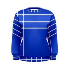 Stripes Pattern Template Texture Women s Sweatshirt