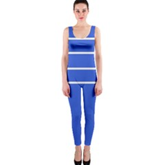 Stripes Pattern Template Texture Onepiece Catsuit