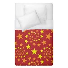 Star Stars Pattern Design Duvet Cover (single Size)