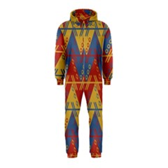 Aztec traditional ethnic pattern Hooded Jumpsuit (Kids)