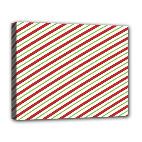 Stripes Striped Design Pattern Deluxe Canvas 20  X 16