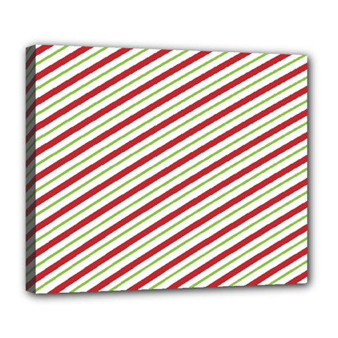 Stripes Striped Design Pattern Deluxe Canvas 24  X 20   by Nexatart