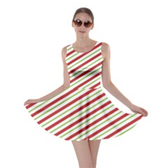 Stripes Striped Design Pattern Skater Dress