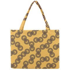 Abstract Shapes Links Design Mini Tote Bag