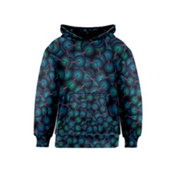 Background Abstract Textile Design Kids  Pullover Hoodie