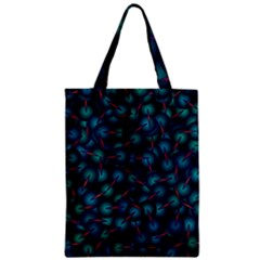 Background Abstract Textile Design Zipper Classic Tote Bag