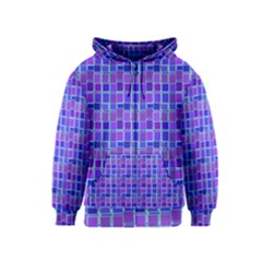 Background Mosaic Purple Blue Kids  Zipper Hoodie