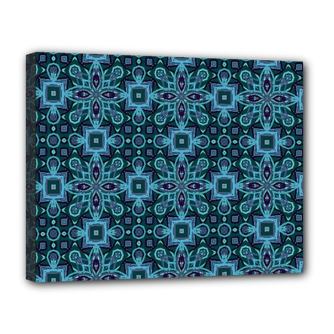 Abstract Pattern Design Texture Canvas 14  X 11  by Nexatart