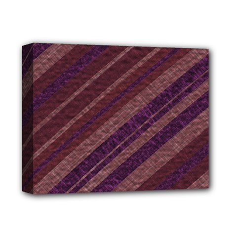 Stripes Course Texture Background Deluxe Canvas 14  X 11