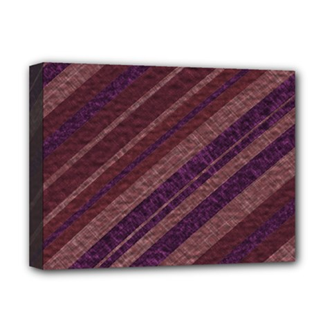 Stripes Course Texture Background Deluxe Canvas 16  X 12