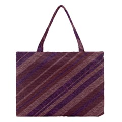 Stripes Course Texture Background Medium Tote Bag by Nexatart