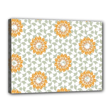 Stamping Pattern Fashion Background Canvas 16  X 12