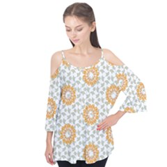Stamping Pattern Fashion Background Flutter Tees by Nexatart