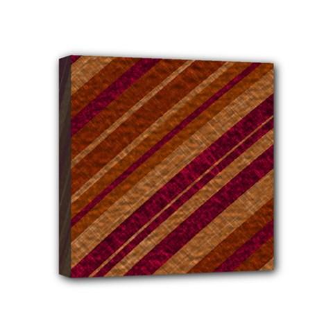 Stripes Course Texture Background Mini Canvas 4  X 4  by Nexatart