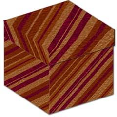 Stripes Course Texture Background Storage Stool 12   by Nexatart